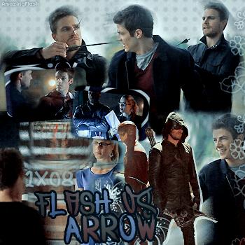 1.08 The Flash vs Arrow / 3.08 The Brave & The Bold  créa1 ~ créa2 ~ créa3 ~ déco