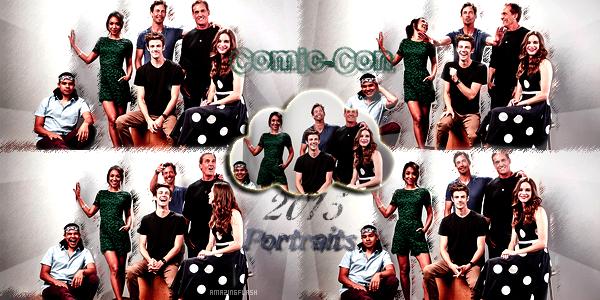 Comic-Con 2015 créa 1/4 ~ créa 2 ~ créa 3 ~ déco