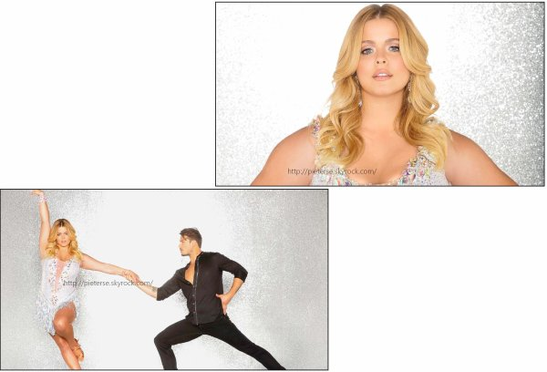 "• • Sasha Pieterse sera candidate dans la vingt-cinquième édition de ""Dancing with the Stars""."