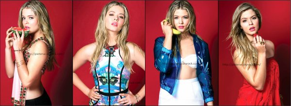 • • Shooting photo de Sasha Pieterse pour Maniac Magazine 2014