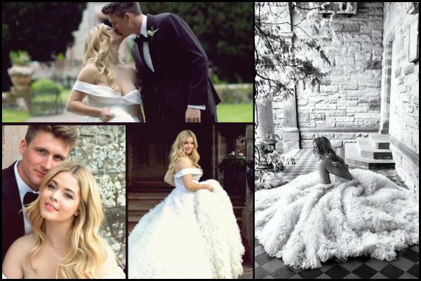 • • Princesse Sasha Pieterse c'est enfin mariée le 27 Mai 2018 avec Hudson Sheaffer en Irlande
