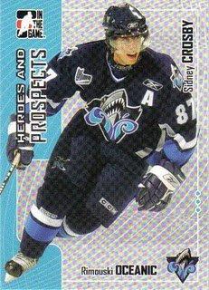 carte de hockey sidney crosby.