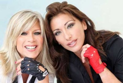Samantha Fox et Sabrina reprennent « Call Me » en duo