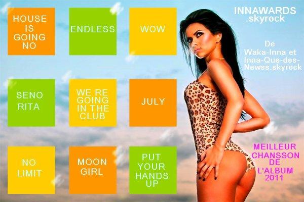 "Chanson De L'album ""I am the club Rocker"" 2011"