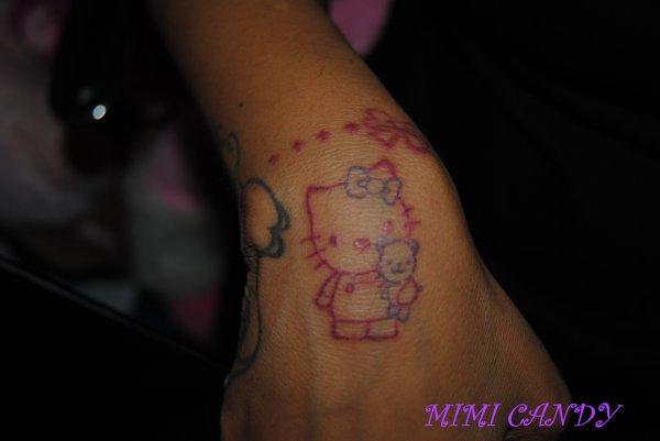 Kitty tattoo par Princesse Pudding!