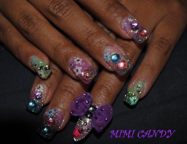 Nouveaux ongles avant la Japan Expo!!
