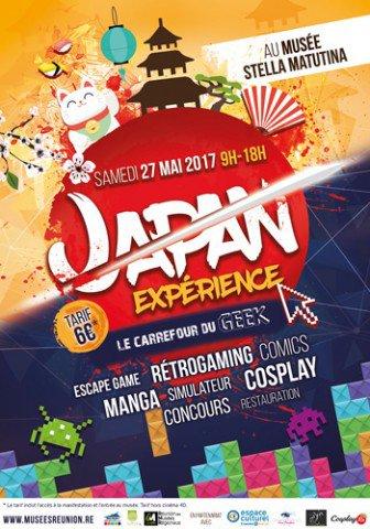 Événement Japan Expérience à St Leu