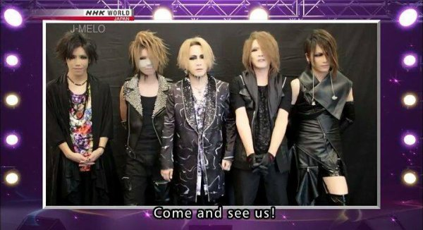 The GazettE lors d'une interview