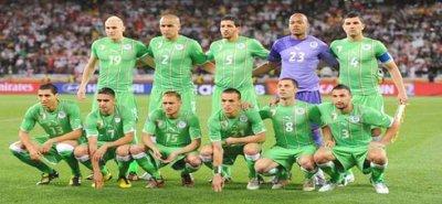 La selection algerienne ....Mon équipe ! $)