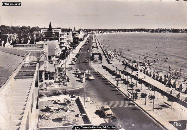 La Tournée 1957; villes traversée en Septembre  ..1.ère partie
