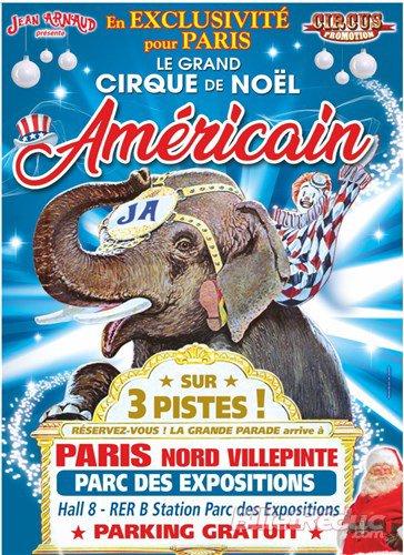 Cirque de Noel Américain à Paris Villepinte
