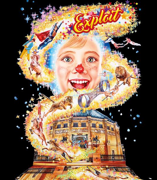 """Nouveau spectacle cirque d'hiver à partir du 14 Octobre ... """"Exploits"""""""