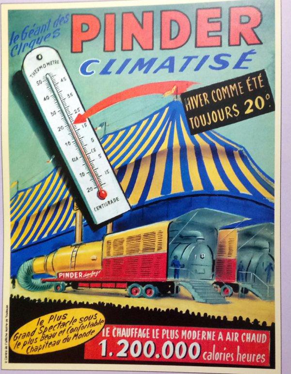 Le cirque arrive ... Les affiches qui parlent des convois routiers