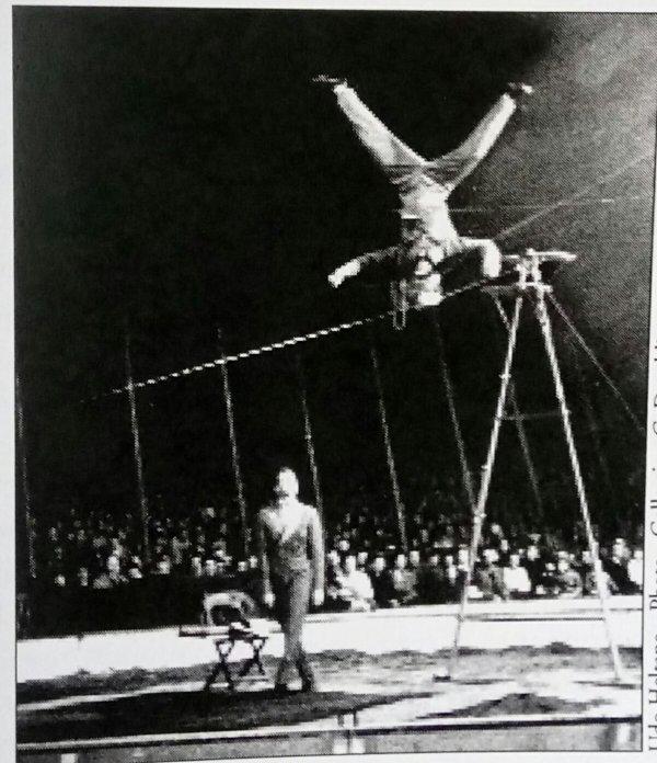 Spectacle du cirque Pinder 1957 y a déjà 60 ans ...