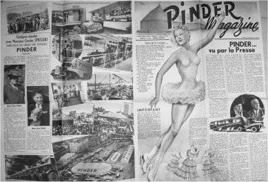 La parade arrive : La voiture clown première version (1950)