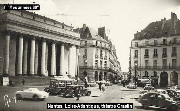 La Tournée 1957; liste des villes traversées en Mars ...