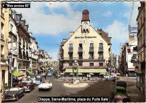 La Tournée 1957; villes traversées en Mai ...