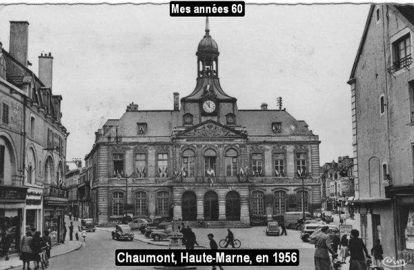 La Tournée 1957; villes traversée en Juillet ...