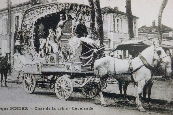 La parade arrive : La petite histoire de la parade chez Pinder 1890 / 1949