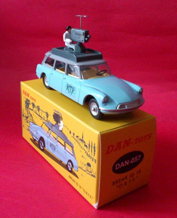 La voiture caméra de l'ORTF ...