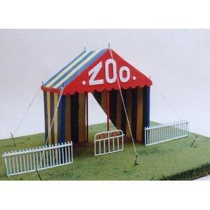 """Mon petit bricolage """" une tente pour l'entrée du Zoo du cirque """""""