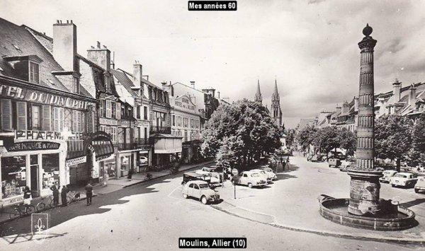 La tournée 1957 villes traversées en Mai