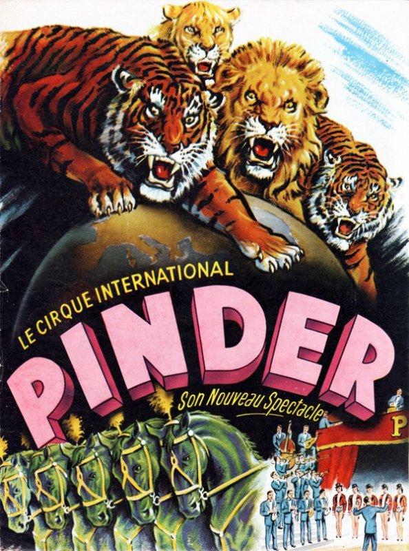 1959 : Le 16 Mai,  Pinder est à Bruxelles face à la gare de midi ...