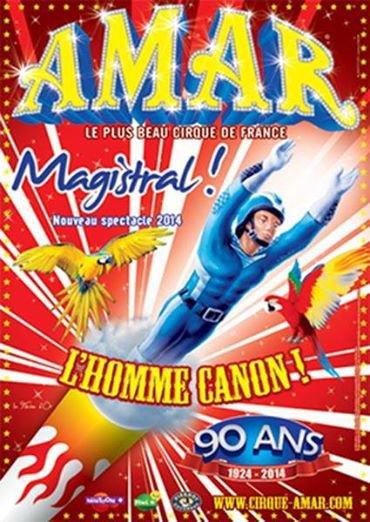 Le Cirque AMAR fête ses 90 ans en 2014 ...son histoire!