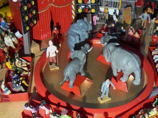 Les éléphants de Gustave Laskowski (1950/1960)