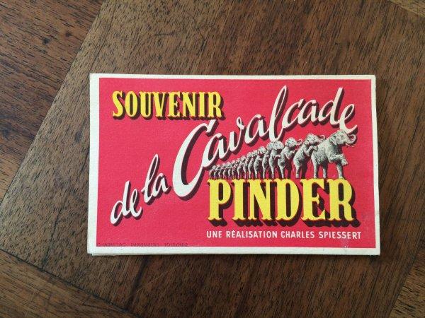 Le Dépliant de la Cavalcade Pinder