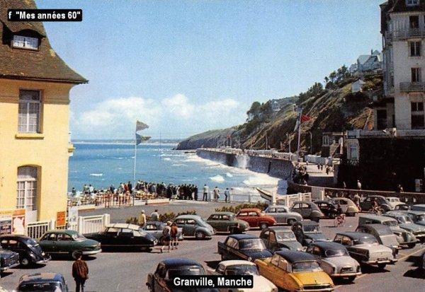 La Tournée 1957; villes traversées en Juillet ...