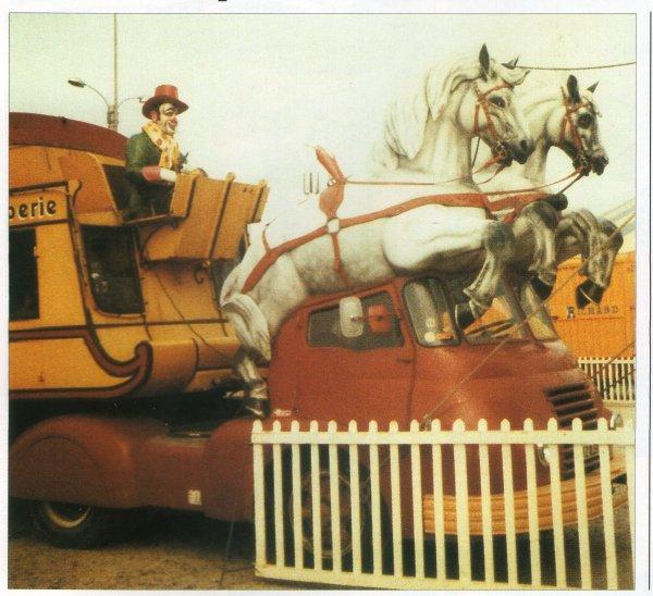 Le Snack bar du cirque PINDER ... pour la petite histoire ...