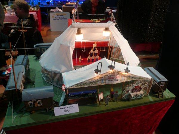 Salon de la maquette du cirque du cirque d'hiver 2015