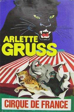La petite histoire du cirque Arlette Gruss 1986 ...