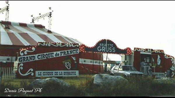 La petite histoire du Cirque Arlette Gruss 1987 & 1988 ...