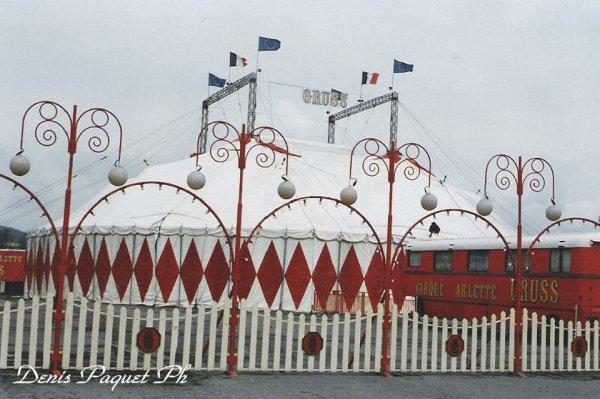 La petite histoire du cirque Arlette Gruss 1993 à 1994 ...