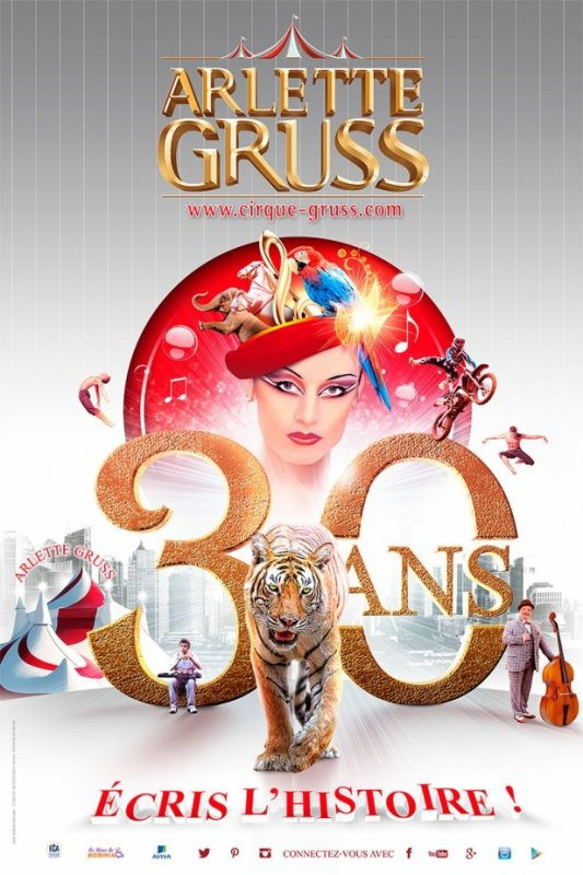 La petite histoire du cirque Arlette Gruss  2014 & 2015