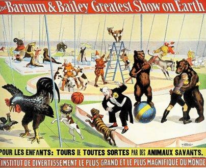 La démesure du cirque Barnum à Vannes en Bretagne s'était en 1902