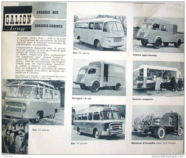 Le Renault Galion chez Pinder ....