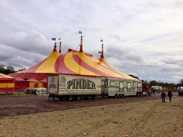 Cirque Pinder à Paris 2015 du 6 Novembre au 24 Janvier 2016