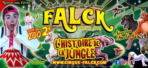 Cirque Falck 2019 Nouveau Cirque Zavatta avec MAGIQUE