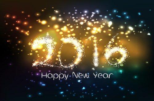 Bonne Année vive 2016