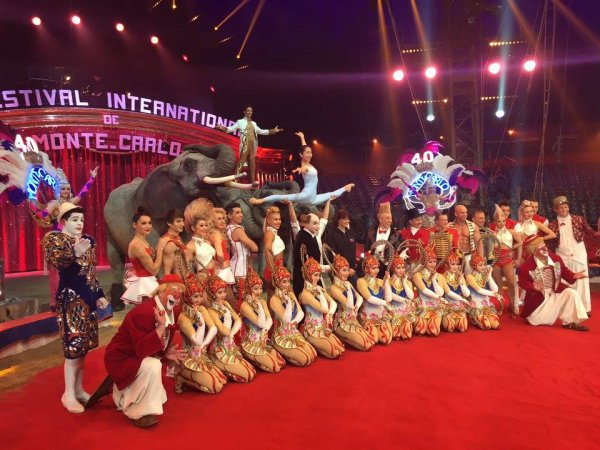 40ème Festival International du Cirque de Monte Carlo 2016