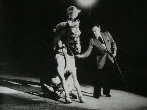 Le spectacle de l'année 1961 chez Pinder ...