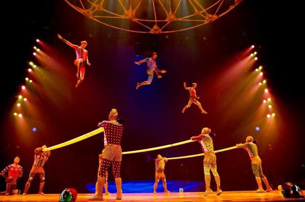 Le Cirque du Soleil à Paris avec TOTEM depuis le 25 Octobre ...