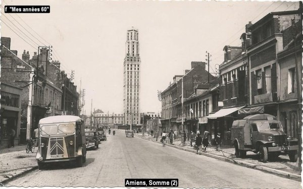 La tournée 1957 ; Les villes visitées en Avril ..première partie