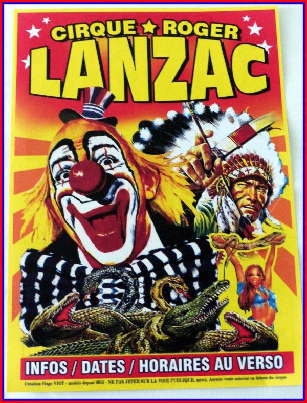 Roger Lanzac monsieur loyal du cirque Pinder (1961/1964)