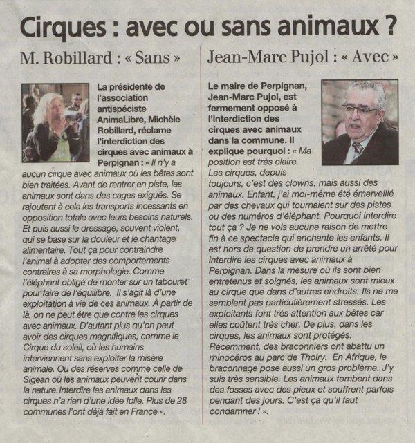 Cirques : avec ou sans animaux ?