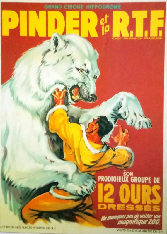 Demandez le programme du Cirque Pinder 1964 ...