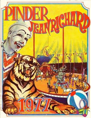 Les fauves dans les affiches Pinder après Spiessert de 1970 à aujourd'hui